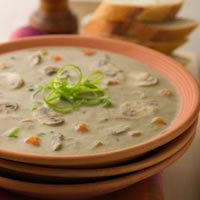Creamy Mushroom and Corn Chowder: Main Image