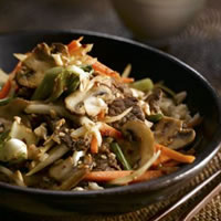 Ginger Beef and Mushroom Stir-Fry: Main Image