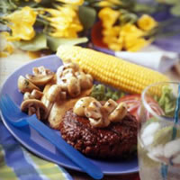 Grilled Mushrooms with Sherry: Main Image