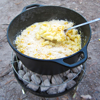 Camping Macaroni and Cheese: Main Image