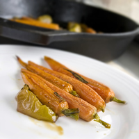 Cider Roasted Carrots and Apples: Main Image