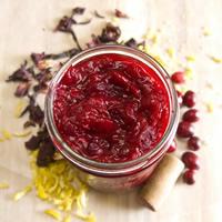 Cranberry Hibiscus Sauce: Main Image