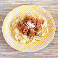 Fresh Tomato Basil Pasta Sauce: Main Image