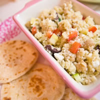 Greek Couscous Salad: Main Image