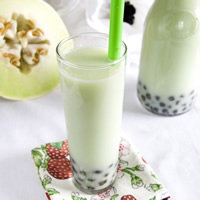 Honeydew Bubble Tea: Main Image