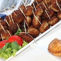 Moroccan Lamb Cocktail Meatballs: Main Image