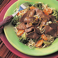Asian Beef & Broccoli with Noodles: Main Image