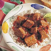 Chili Salsa Beef: Main Image
