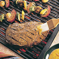 Grilled Beef Sirloin & Farmer's Market Skewers: Main Image