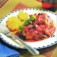 Chicken and Polenta: Main Image