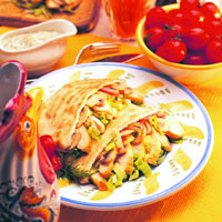 Chicken Pita Pockets: Main Image