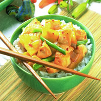 Pineapple Ginger Chicken Stir-Fry: Main Image