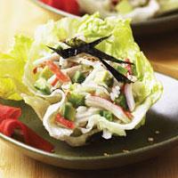 Alaska Surimi Seafood Lettuce Cups: Main Image