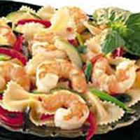 Bowtie Shrimp Pasta & Red Wine Vinaigrette: Main Image