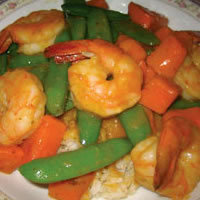 Coconut Curry Shrimp: Main Image