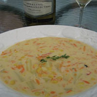 Corn & Lobster Chowder: Main Image