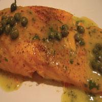 Elegant Salmon Piccata: Main Image