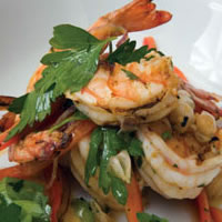 Grilled Shrimp Salad: Main Image