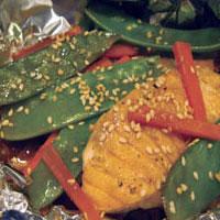 Teriyaki Salmon in Foil: Main Image