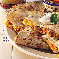 Green Chili Pork Quesadillas: Main Image
