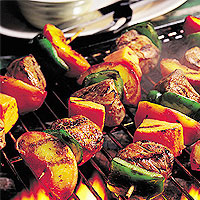 Honey Pork Tenderloin Kabobs: Main Image
