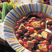 Mexican Pork and Bean Soup: Main Image