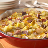 Anytime Ham and Cheese Frittata: Main Image