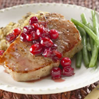 Autumn Glazed Pork Chops: Main Image