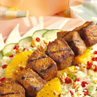 Caribbean Pork and Couscous Salad: Main Image