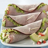 Cobb Salad Ham Roll-ups: Main Image
