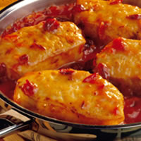 Cranberry-Onion Chops: Main Image