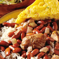New Orleans-Style Red Beans and Rice with Fresh Ham Hocks: Main Image