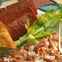 Red Beans and Rice with Smoked Sausage: Main Image