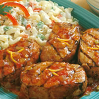 Spicy Grilled Chops: Main Image