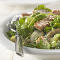 Warm Pork and Spinach Salad: Main Image