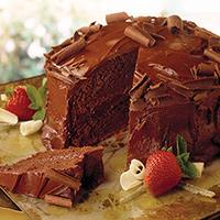 Caramelized Secret Chocolate Cake: Main Image