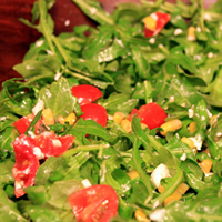 Arugula, Corn, and Tomato Salad: Main Image