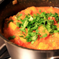 Butternut Squash and Chickpea Curry: Main Image