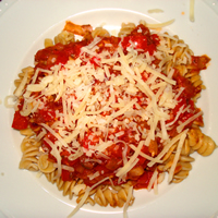Quick, Easy, Healthy Veggie Pasta Recipe: Main Image