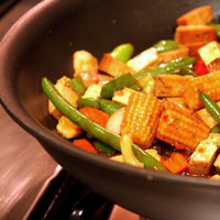 Simple, Healthy Asian Stir-Fry with Veggies and Tofu: Main Image