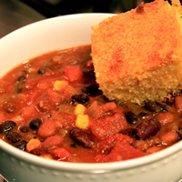 The Best Vegetarian Chili EVER!: Main Image