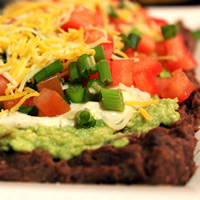 Guilt-Free, Healthy Seven-Layer Bean Dip: Main Image