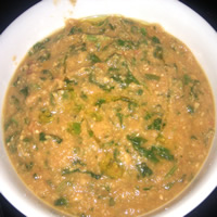 Moroccan Spiced Chickpea Soup: Main Image