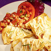 Pear and Brie Quesadillas: Main Image