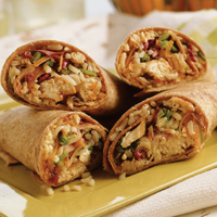 Peking Chicken Wraps: Main Image
