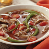 Pepper Steak Soup: Main Image