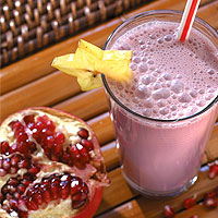 Pomegranate Passion Smoothie: Main Image