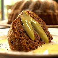 Chocolate BaNilla Cake with BaNilla Creme Anglaise: Main Image