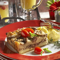 Make-Ahead Brunch Beef Strata: Main Image