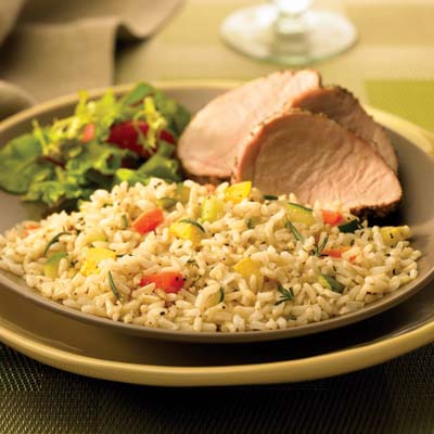 Confetti Rice Pilaf: Main Image